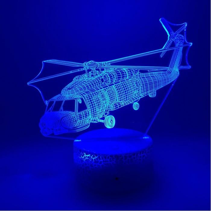 3D Nightlight Helicopter
