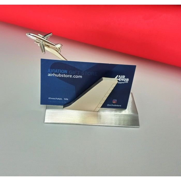 Business Card Holder Plane And Keel
