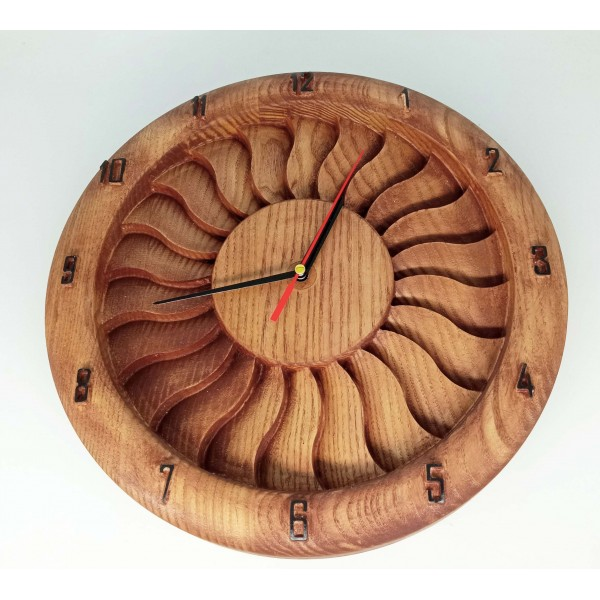 Wooden Clock Turbine