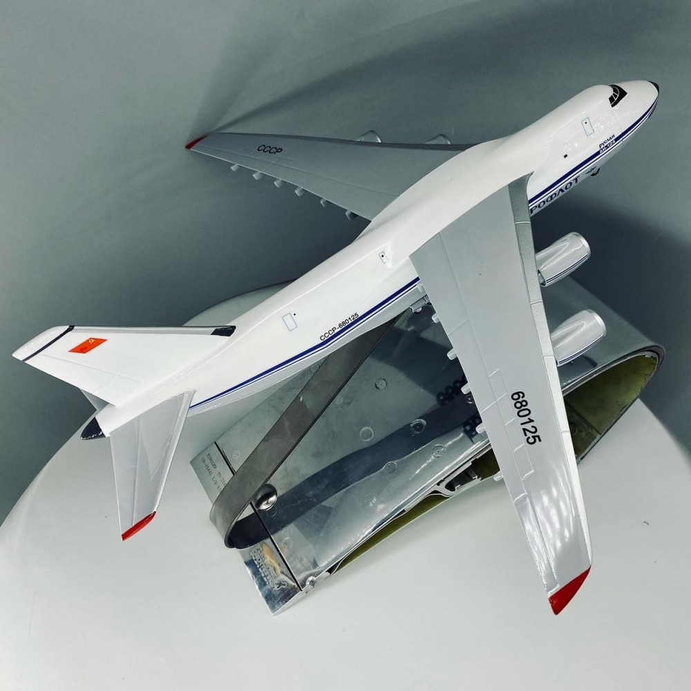 Aircraft Stand With Flaps From Real TU-154B-2