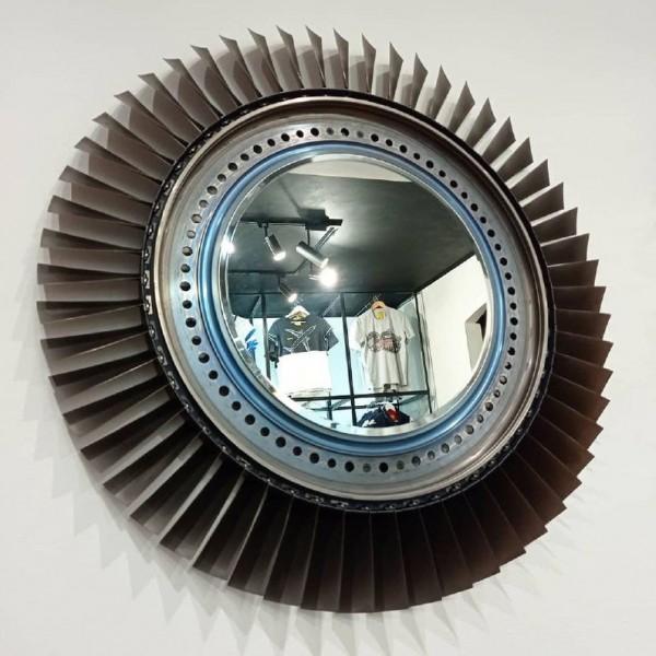 Mirror From The Original Compressor Pratt & Whitney