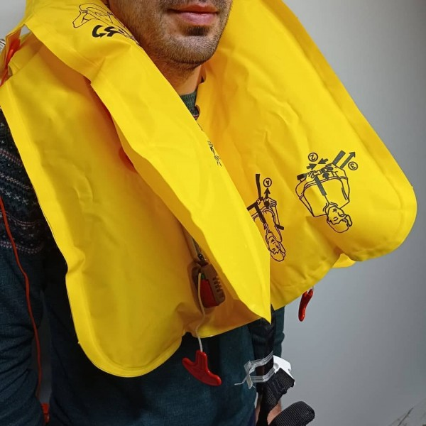 Original Life Vest From The Plane