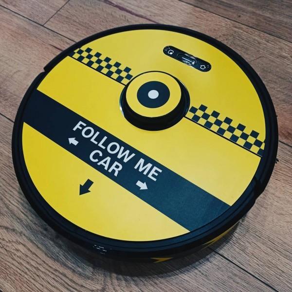 "Sticker pack ""Follow me car"" for Xiaomi S6 RoboRock vacuum cleaner"