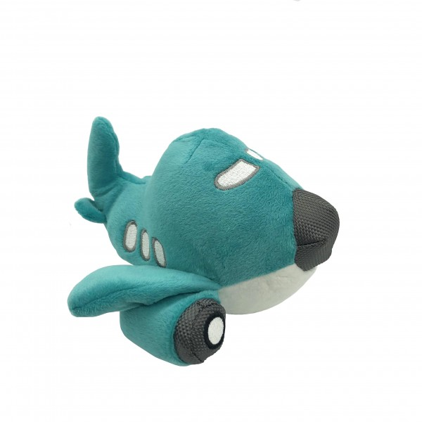 Toy Airplane With Sound Turquoise