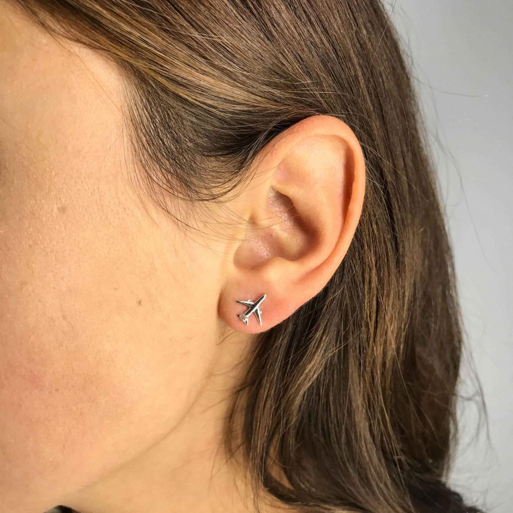 Earrings Simple Planes